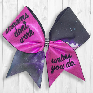 Dreams cheer bow