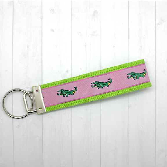 Alligators keychain