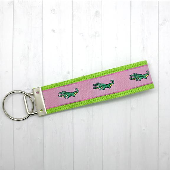 Alligators keychain