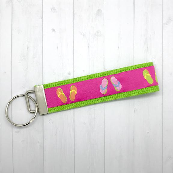 Flip flops keychain