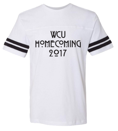 WCU Cheer Homecoming 2017 Shirt - Front