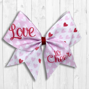 Love to Cheer bow