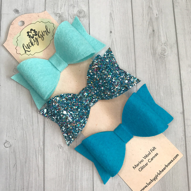 Modern ombre bow set