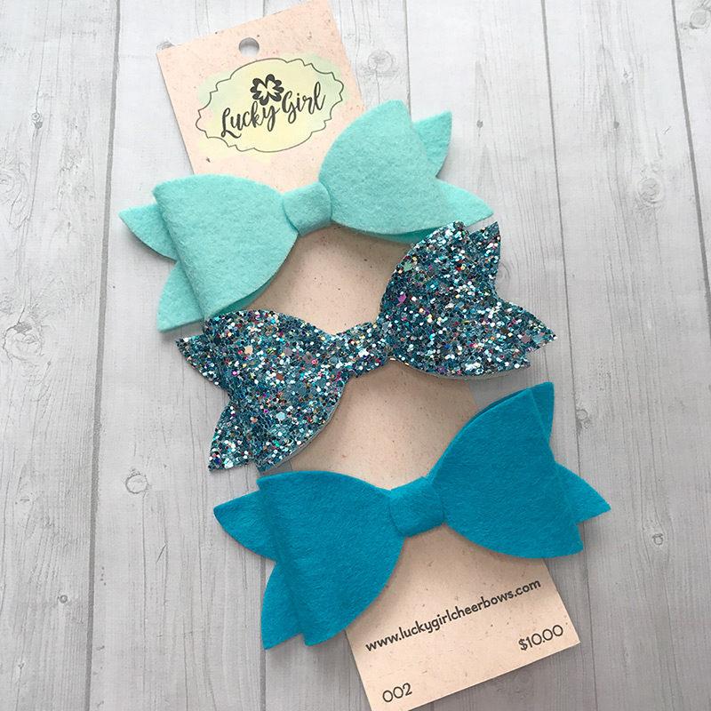 Modern bows, 3 bow set