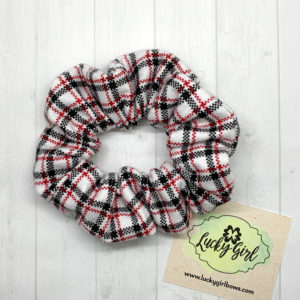 Plaid Flannel Scrunchie